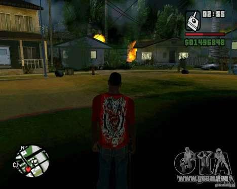 Bombe für GTA San Andreas sechsten Screenshot