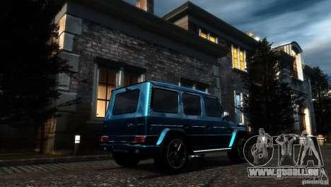Mercedes-Benz G65 AMG [W463] 2012 pour GTA 4 est une vue de l'intérieur