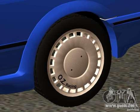 Z-s wheel pack pour GTA San Andreas cinquième écran