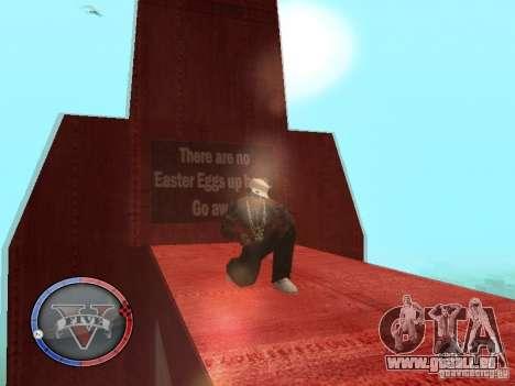 GTA 5 HUD für GTA San Andreas neunten Screenshot