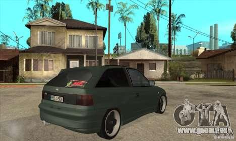 Opel Astra GSI 1993 Custom für GTA San Andreas rechten Ansicht
