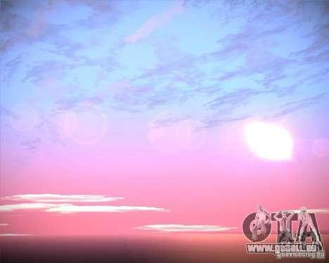 Real Clouds HD pour GTA San Andreas douzième écran