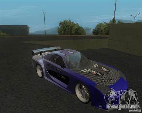 Mazda RX-7 Veilside Fortune pour GTA San Andreas laissé vue