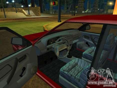 ВАЗ 2114 Touring pour GTA San Andreas vue arrière