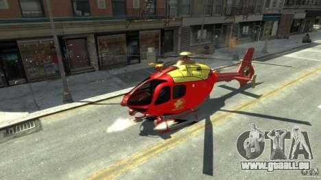 Medicopter 117 für GTA 4 linke Ansicht