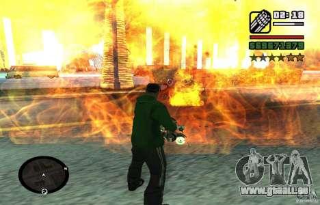 New Effects [HQ] pour GTA San Andreas sixième écran