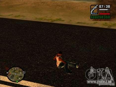 Ordures de l'explosion pour GTA San Andreas troisième écran
