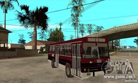 LAZ-4202 pour GTA San Andreas vue arrière