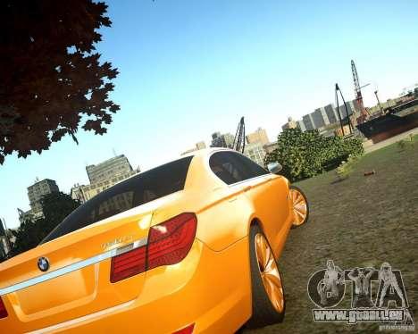 BMW 750Li  2010 für GTA 4 hinten links Ansicht