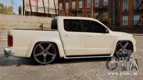 Volkswagen Amarok Light Tuning pour GTA 4 est une gauche