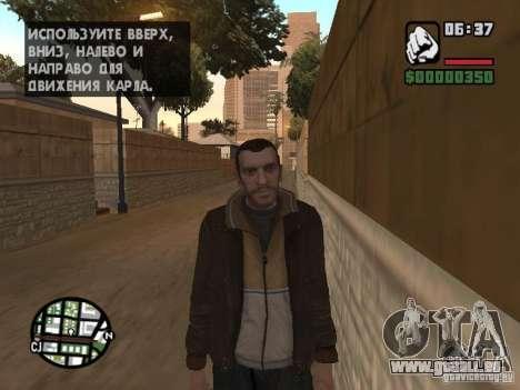 Niko Bellic für GTA San Andreas zweiten Screenshot