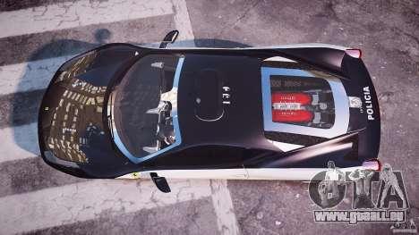 Ferrari 458 Italia - Brazilian Police [ELS] für GTA 4 rechte Ansicht