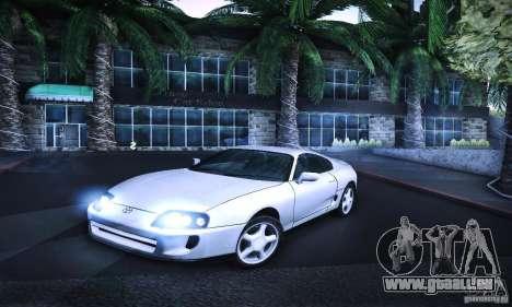 Toyota Supra Tuneable für GTA San Andreas