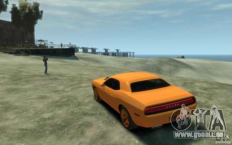 Dodge Challenger Concept pour GTA 4 Vue arrière de la gauche