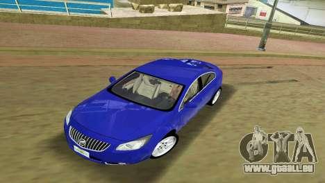 Buick Regal pour une vue GTA Vice City de la gauche