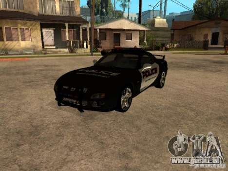 Mazda RX-7 Police für GTA San Andreas