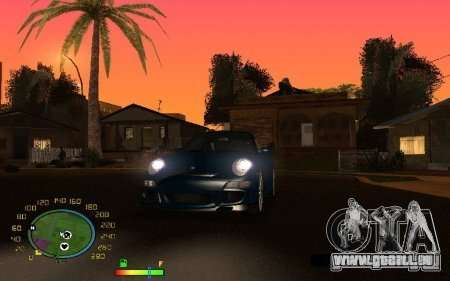 Compteur de vitesse pour GTA San Andreas troisième écran