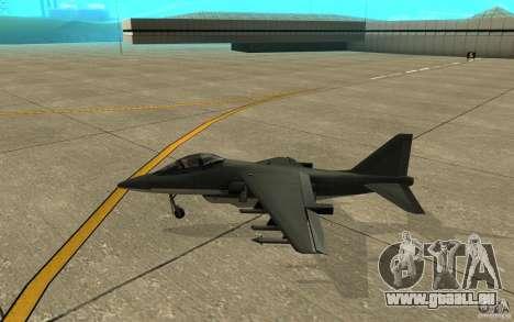 Real Hydra Skin pour GTA San Andreas sur la vue arrière gauche