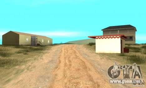 Gebiet in der Wüste für GTA San Andreas
