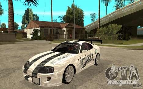 Toyota Supra MK-4 für GTA San Andreas