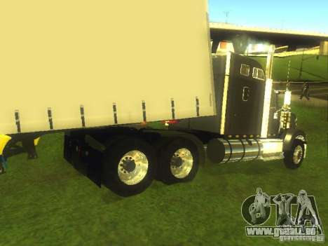 International 9900 pour GTA San Andreas sur la vue arrière gauche