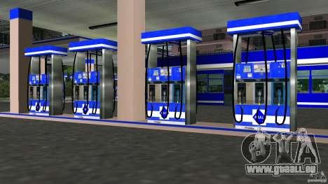 Aral Tankstelle Mod GTA Vice City pour la troisième écran