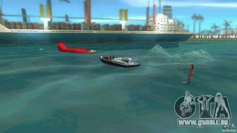 Ski Speeder pour GTA Vice City sur la vue arrière gauche