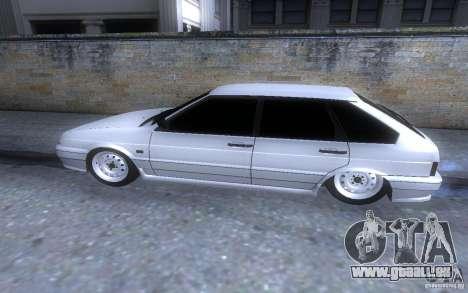 LT ВАЗ 2114 pour GTA San Andreas laissé vue