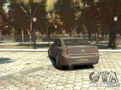 Opel Vectra für GTA 4 hinten links Ansicht