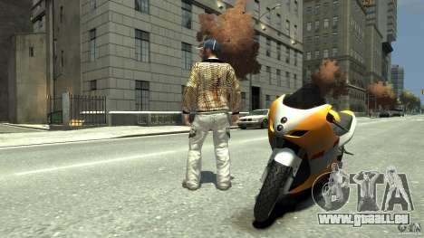 White clothes pack für GTA 4 Sekunden Bildschirm