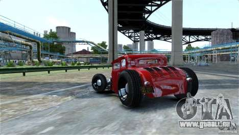 Smith 34 Hot-Rod Restyling für GTA 4 Innenansicht