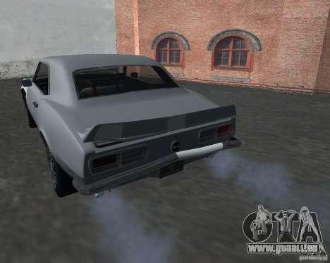 Chevrolet Camaro SS pour GTA San Andreas vue de côté