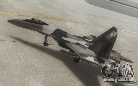 Su-35 BM v2. 0 für GTA San Andreas obere Ansicht