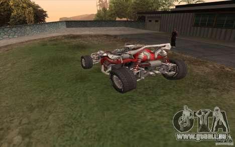 Bandito für GTA San Andreas zurück linke Ansicht