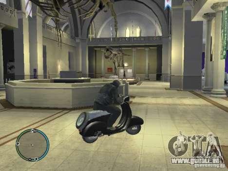 Vyatka moteur scooter pour GTA 4 Vue arrière de la gauche