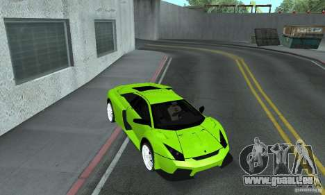 Lamborghini Murcielago Tuned pour GTA San Andreas vue de côté