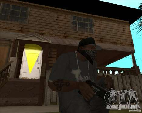 Resident Evil 4 weapon pack für GTA San Andreas