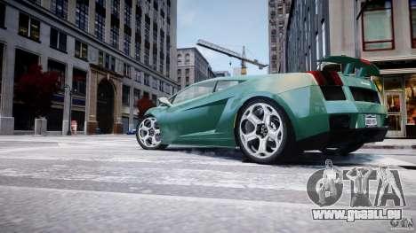 Lamborghini Gallardo pour GTA 4 Salon