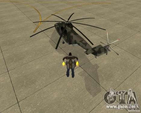 MI-26 pour GTA San Andreas laissé vue