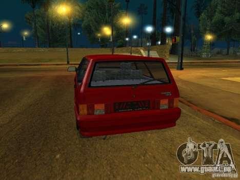 ВАЗ 2114 Touring pour GTA San Andreas vue de droite