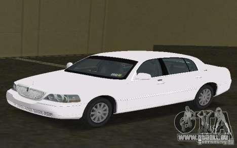Lincoln Town Car für GTA Vice City