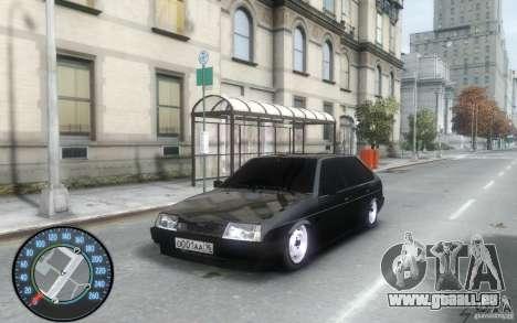 VAZ 2109 Dagestan tuning für GTA 4