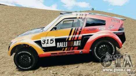 Mitsubishi Pajero Evolution MPR11 für GTA 4 linke Ansicht