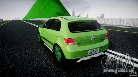 Volkswagen Gol Rallye 2012 v2.0 pour GTA 4 Vue arrière de la gauche