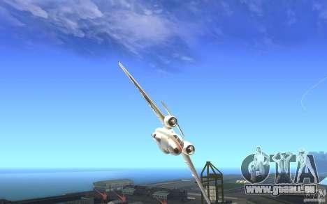 Antonov 74 für GTA San Andreas rechten Ansicht