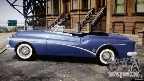 Buick Skylark Convertible 1953 v1.0 für GTA 4 hinten links Ansicht