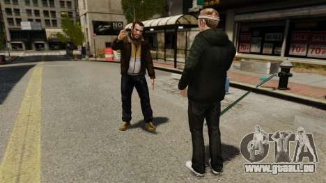 Beleidigung für GTA 4 Sekunden Bildschirm