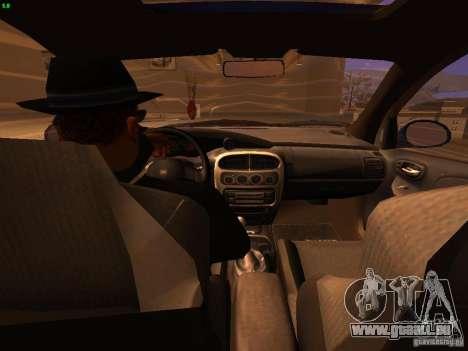 Dodge Neon SRT4 2006 pour GTA San Andreas vue intérieure
