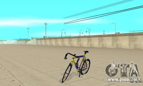 Racing Cycle Turmac Legnano für GTA San Andreas linke Ansicht