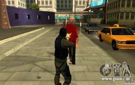 CJ-special forces pour GTA San Andreas cinquième écran